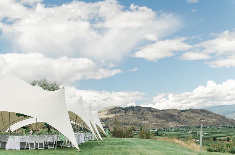okanagan wedding tent rentals