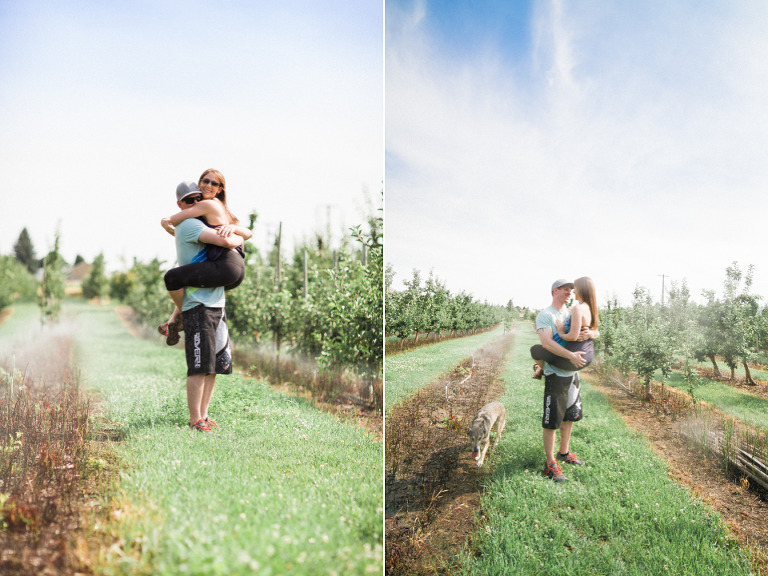 peachland engagement photographers
