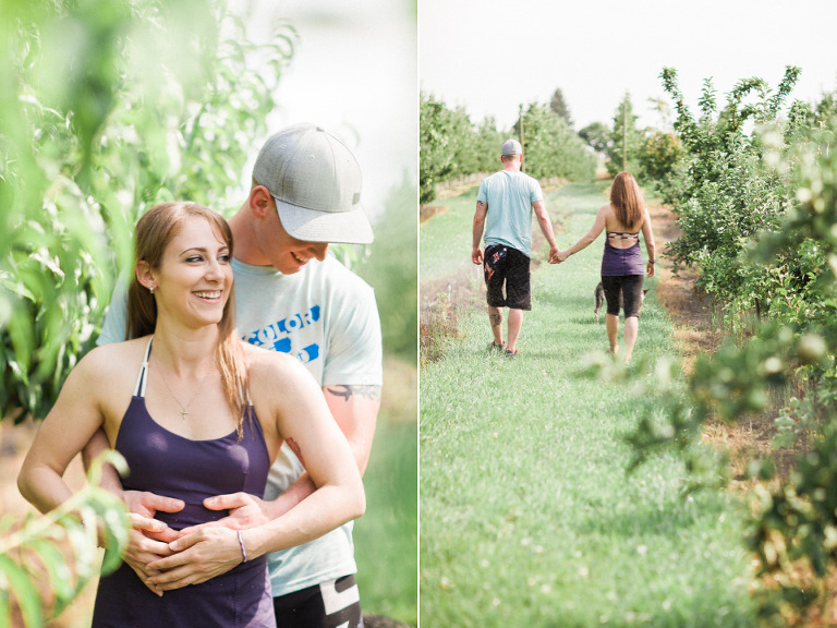 summerland engagement photographers