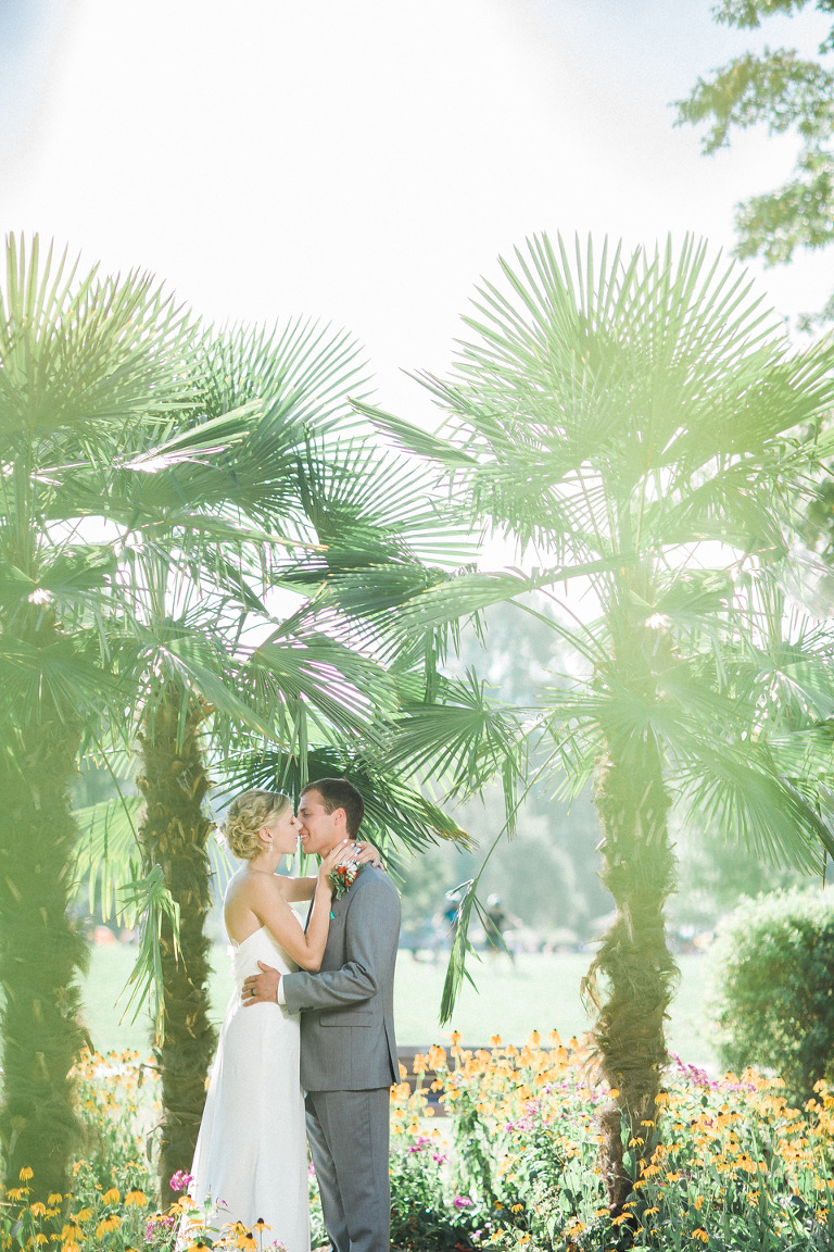lower mainland palm tree wedding