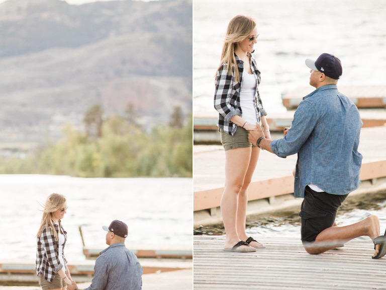 osoyoos engagement proposal photos
