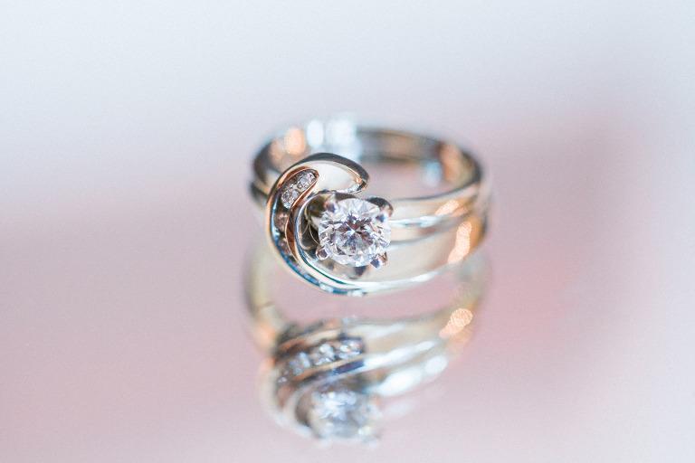 Spence Diamonds wedding ring