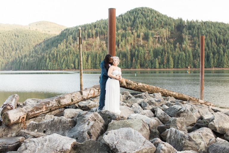 Hayward lake wedding
