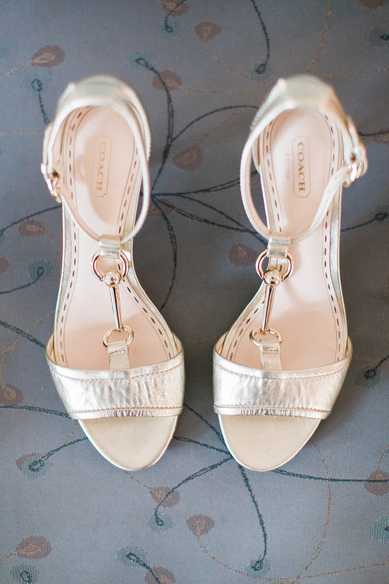 Coach Wedding Bride's Shoes