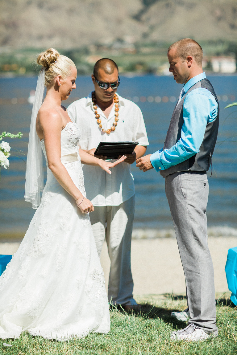 kelowna beach front wedding venue