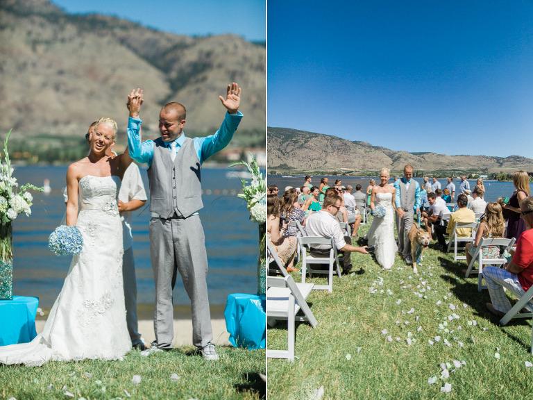 kelowna beachfront wedding