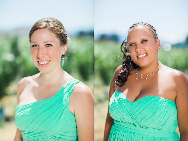 kelowna bridesmaid dress