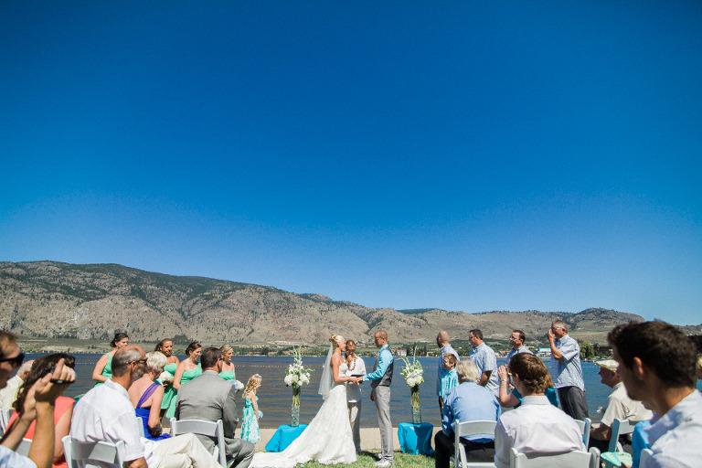 osoyoos beach front wedding venue