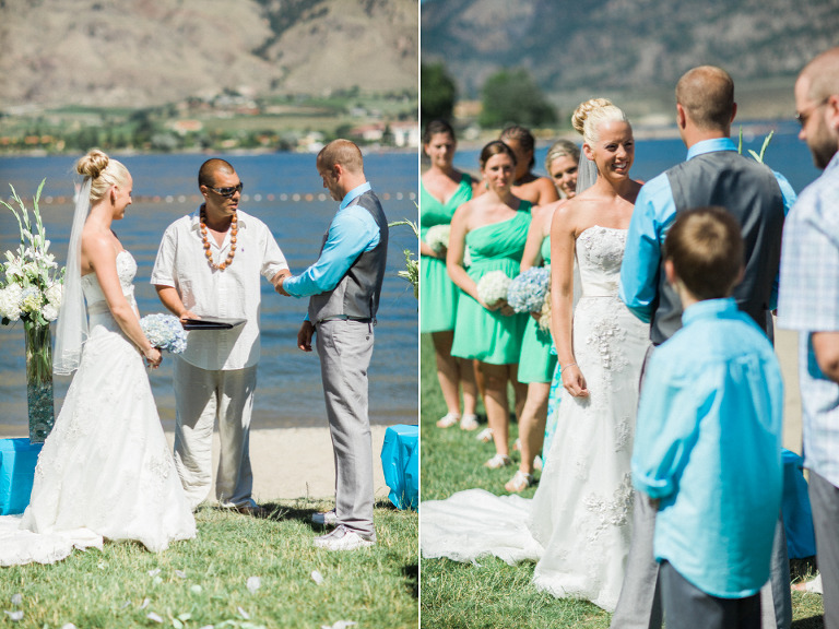 osoyoos beachfront wedding