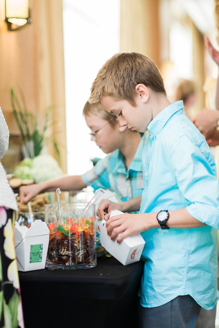 osoyoos wedding candy bar