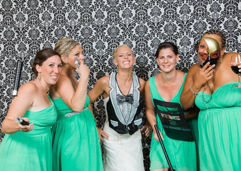 vernon photo booth wedding rental