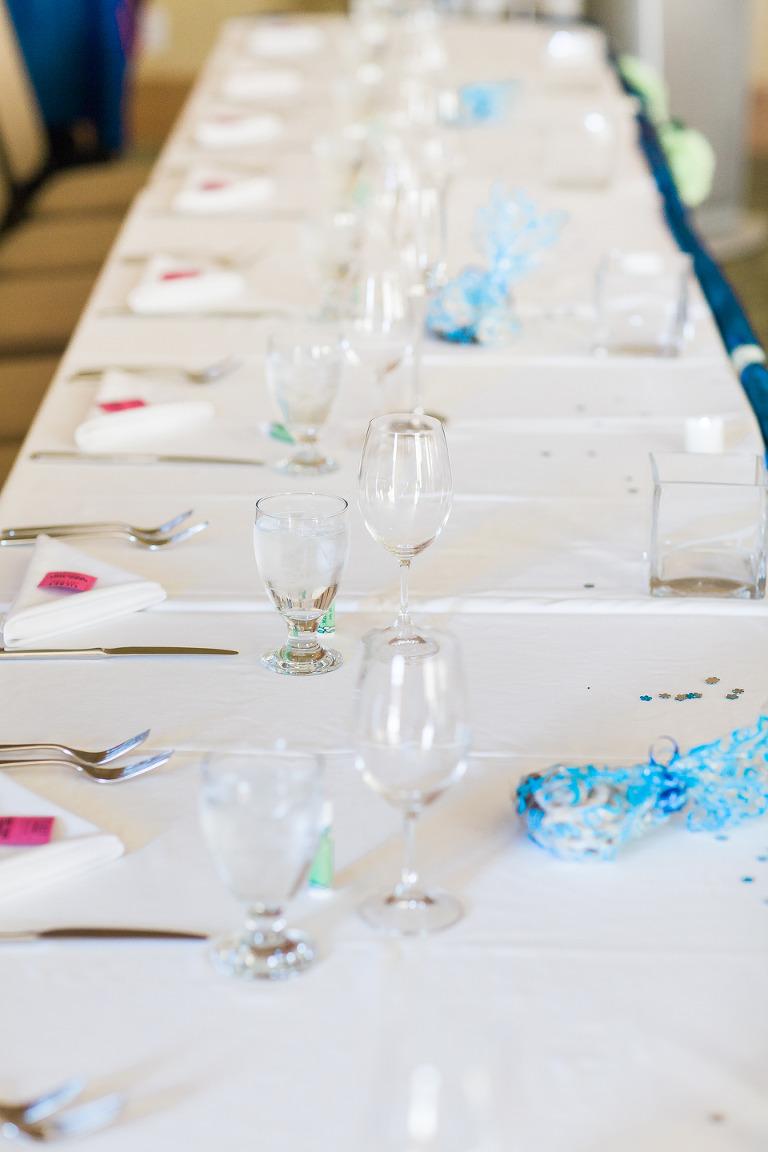 watermark beach resort wedding reception decorator
