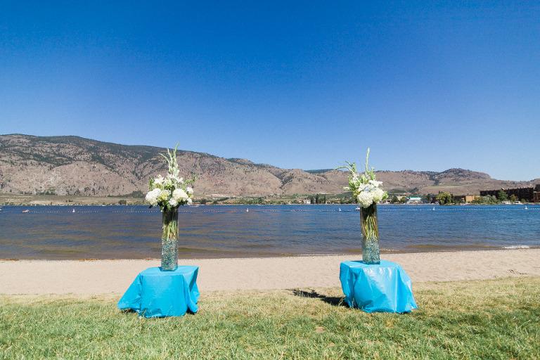 watermark resort beachfront wedding